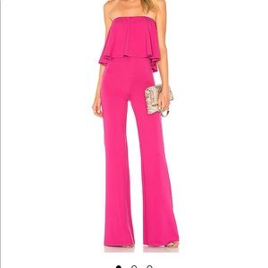 Lovers and Friends Pink Jumpsuit